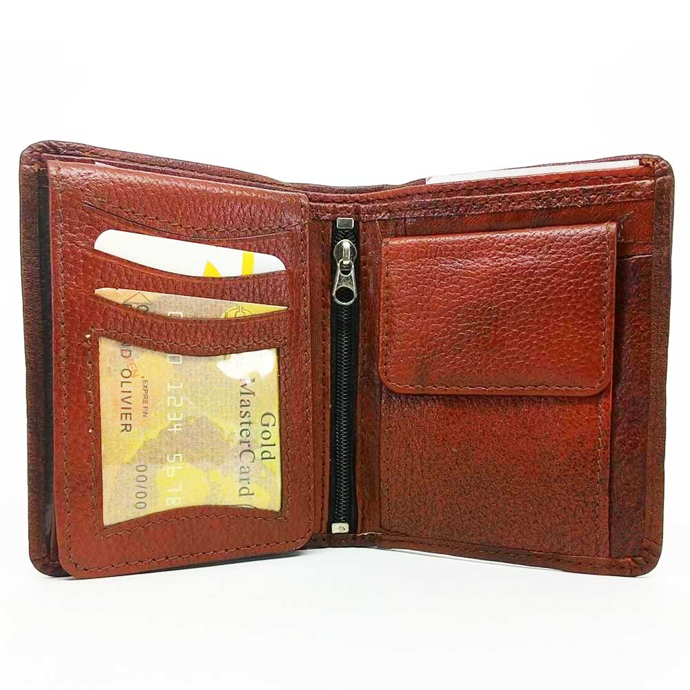 Ikra Leather Wallet-MLWA0007