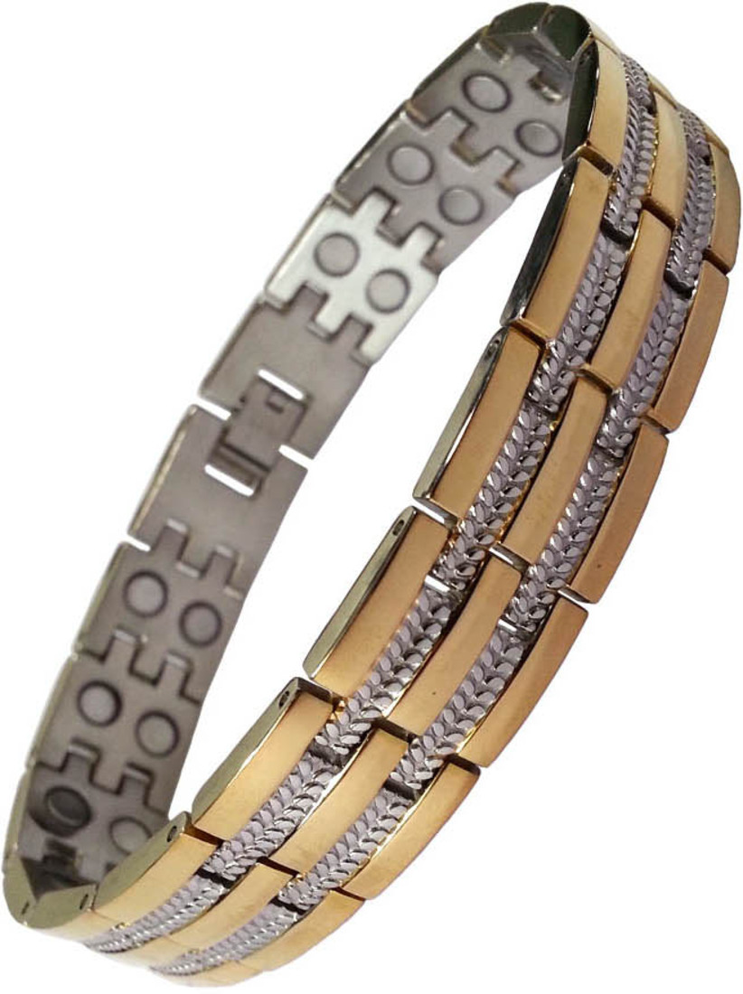 Aarogyam Energy Jewellery Magnetic Metal Bracelet