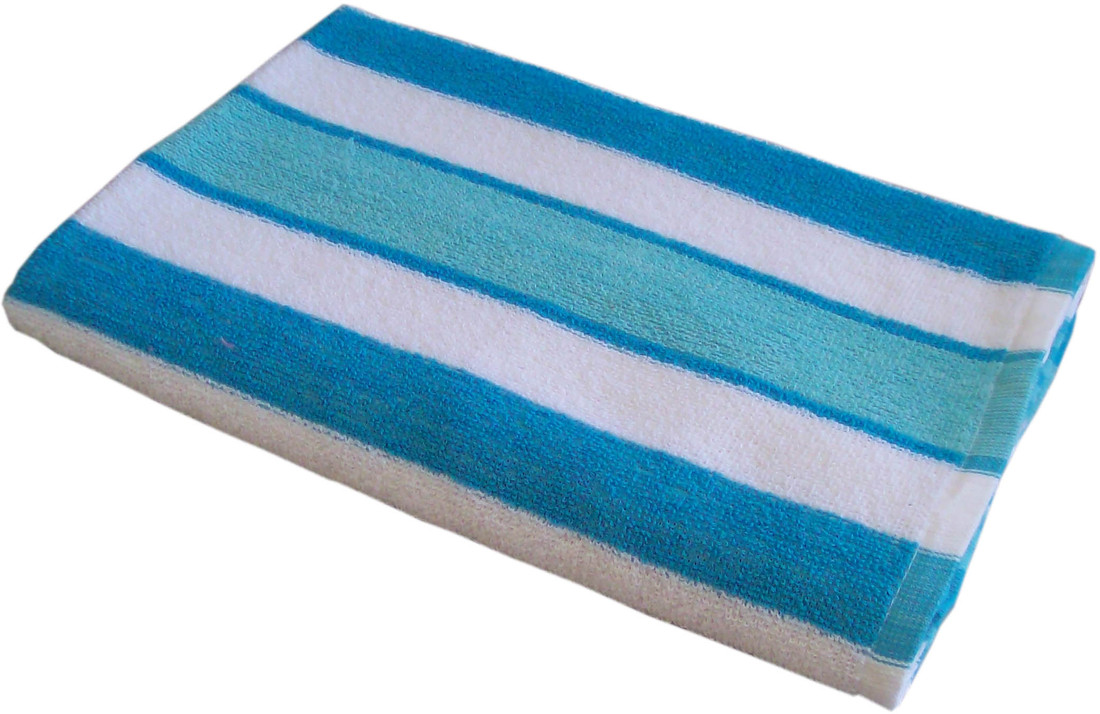 Amber Pattern Stripe Bath Towel
