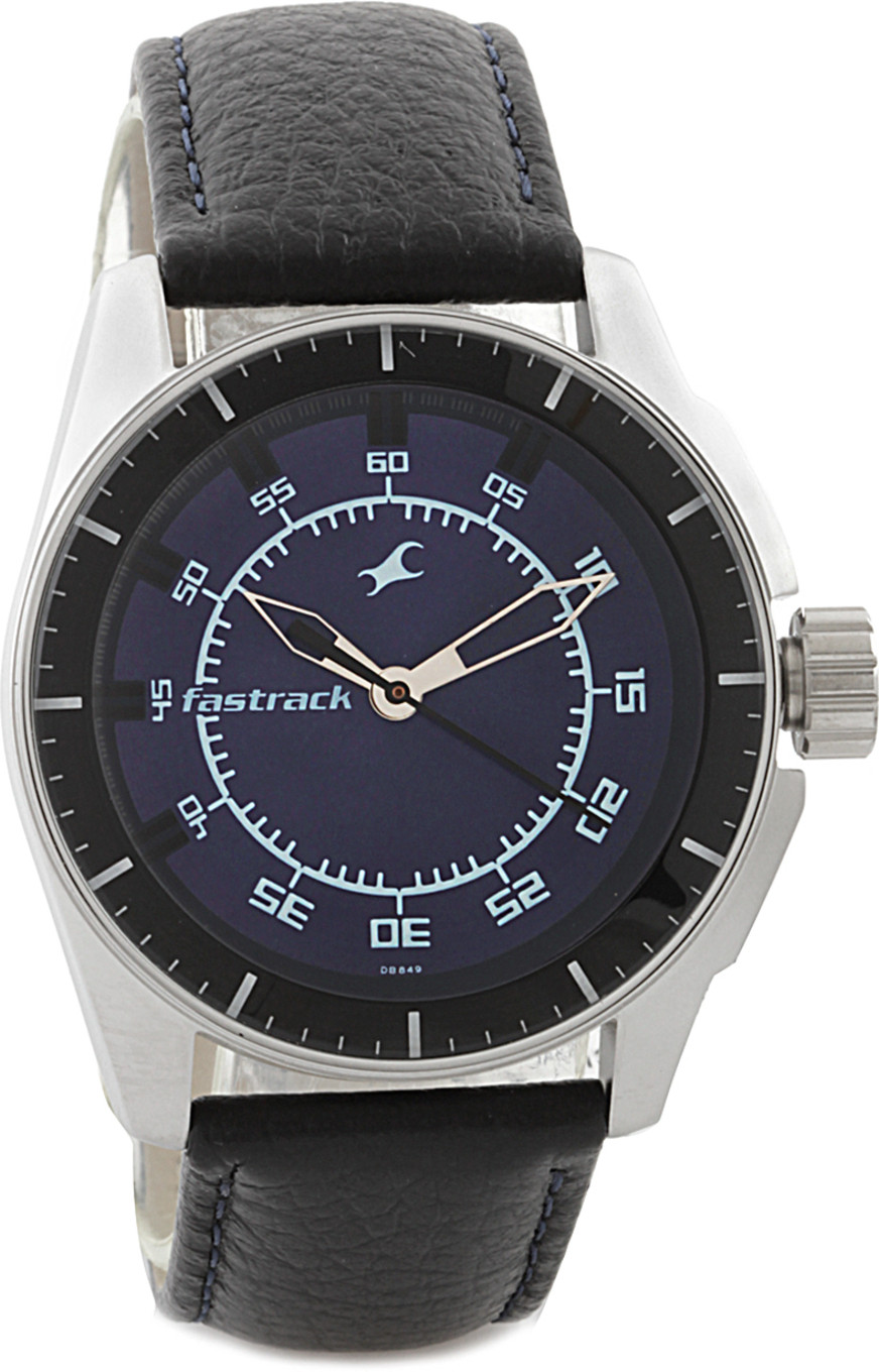 Fastrack Black Magic Analog Watch
