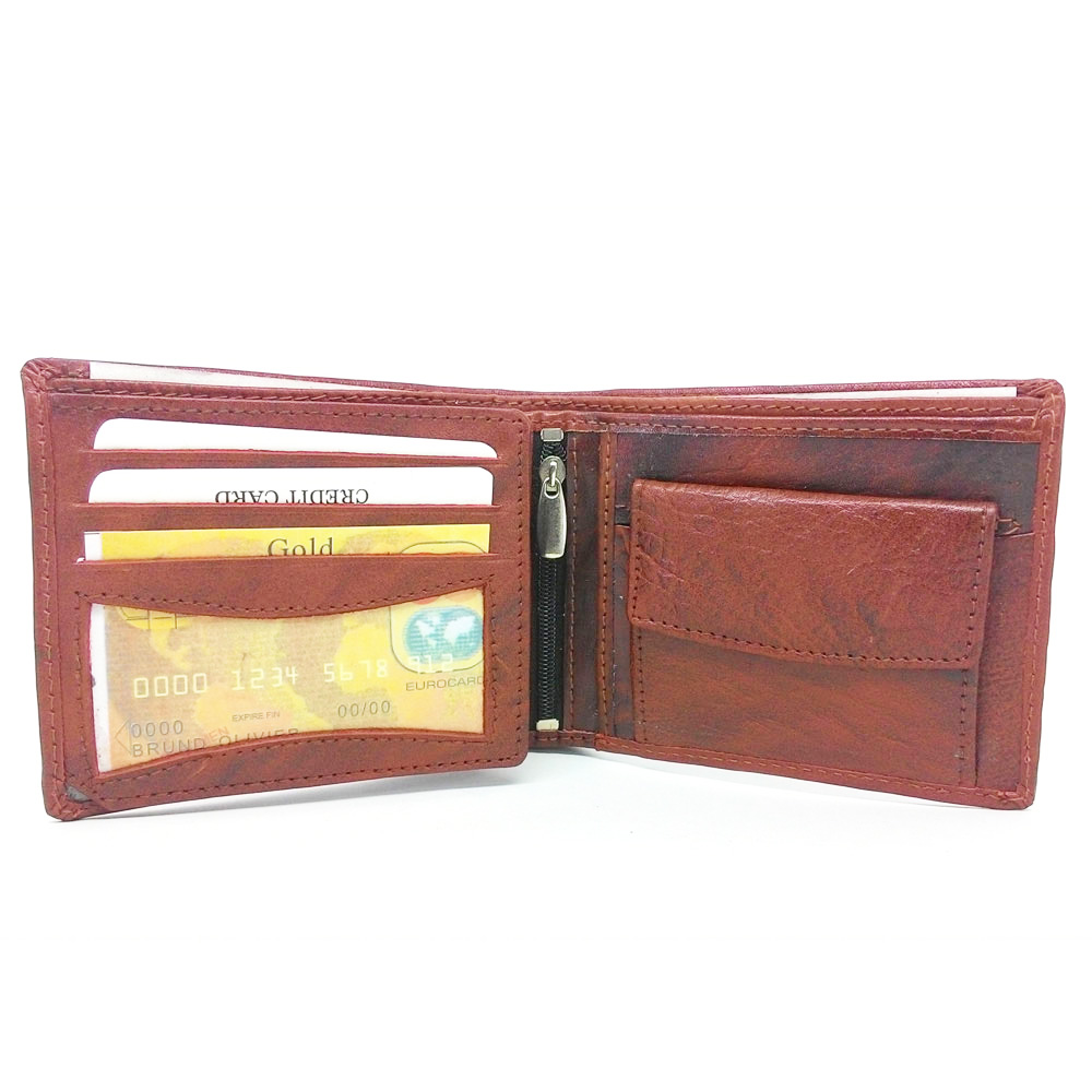 Ikra Leather Wallet -MLWA0001