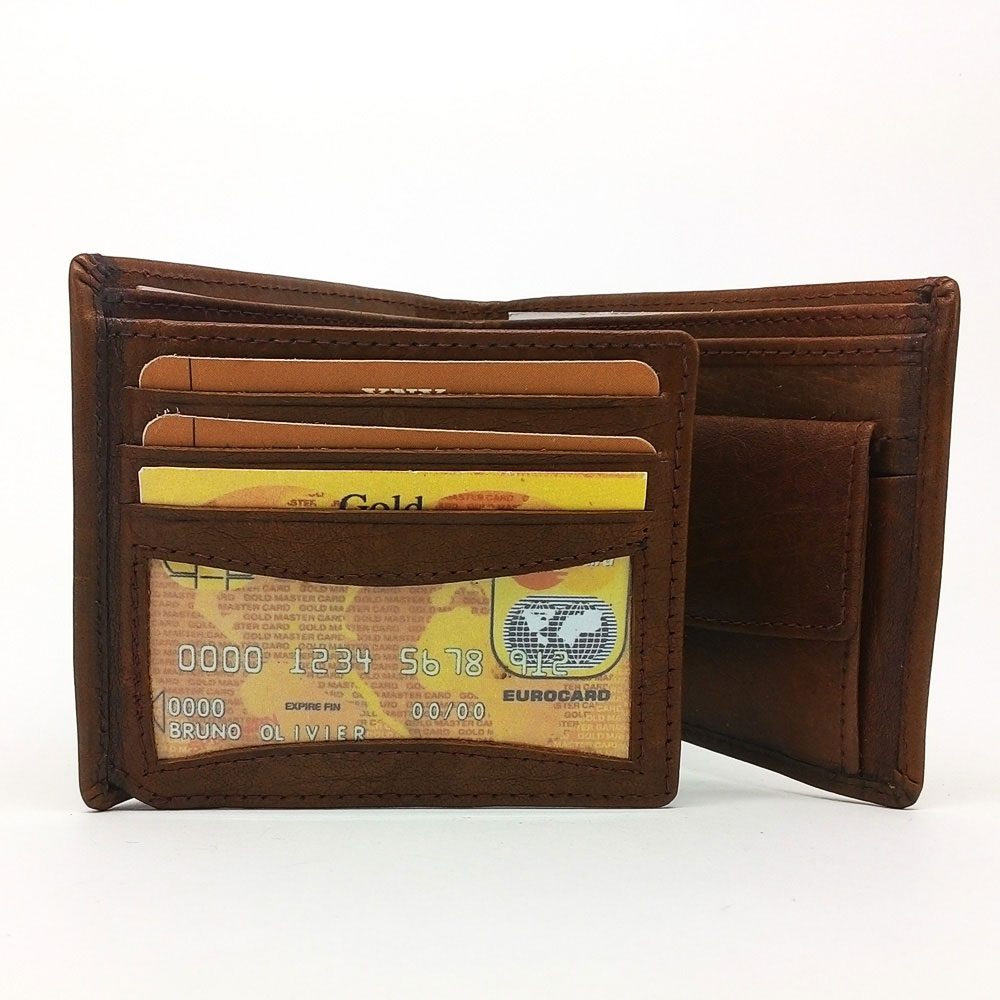 Ikra Leather Wallet-MLWA0008