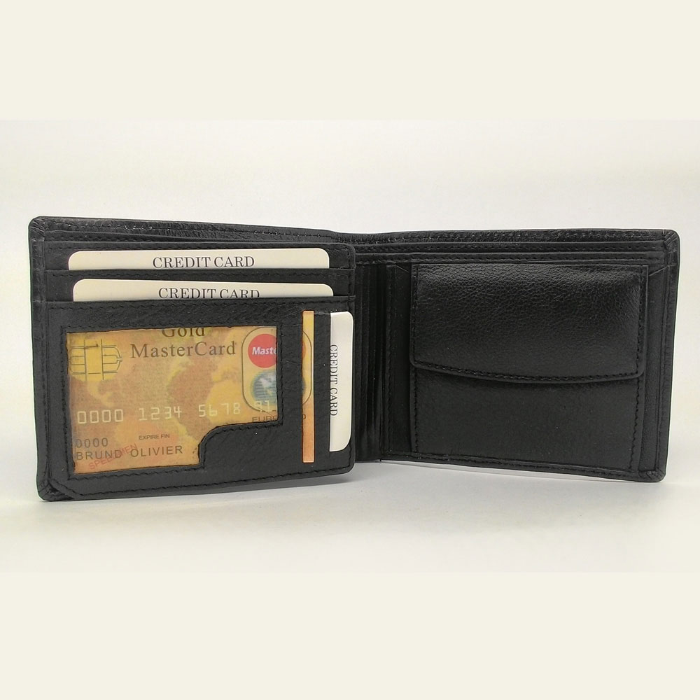 Ikra Leather Wallet-MLWA0011