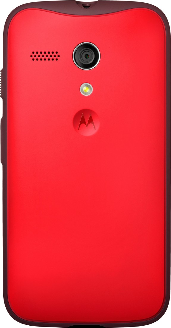Motorola Grip Back Cover for Moto G (1st Gen)