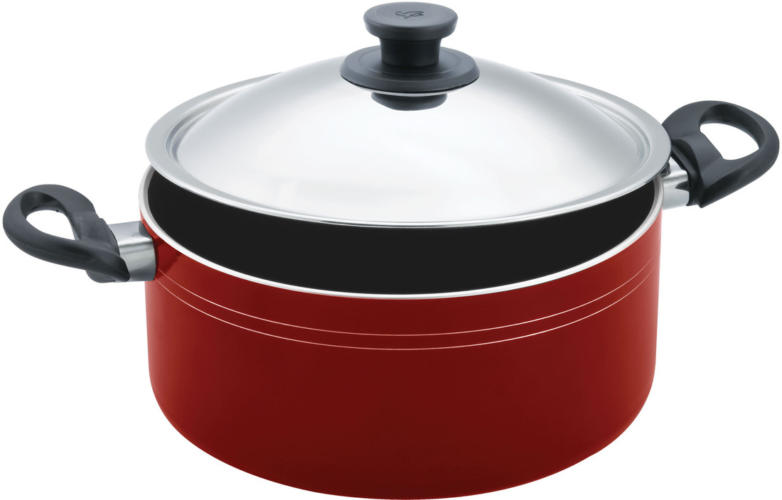 Pigeon Non Stick Biryani Pot Premium with Lid 4 L