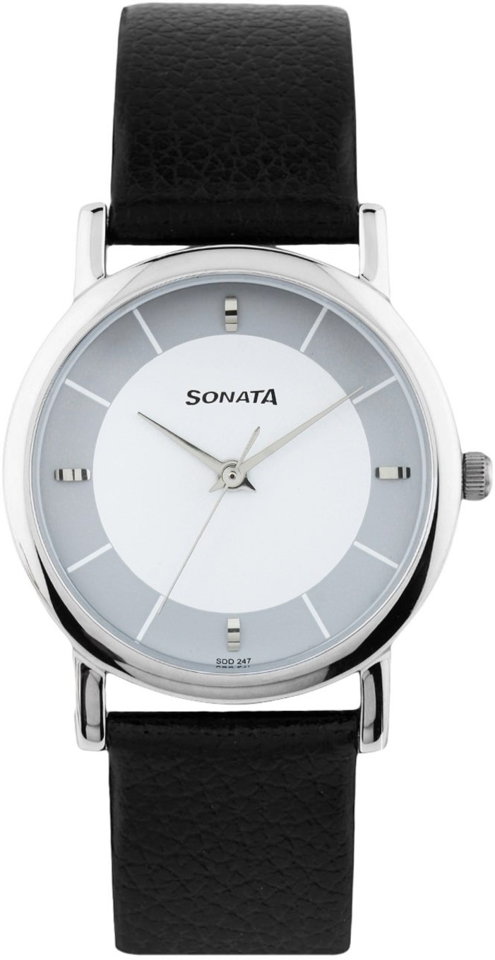 Sonata Analog Watch